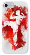 Karate Fighter IPhone Case by Aged Pixel