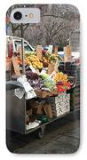 New York Street Vendor IPhone Case by Frank Romeo