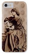 Portrait Of Jane Morris IPhone Case