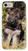 Pretty Puppy IPhone Case by Sandy Keeton