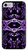 Purple Series 3 IPhone Case by J D Owen