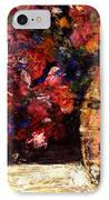 Roses IPhone Case by Daniel Bonnell