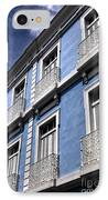 San Juan Blue IPhone Case by John Rizzuto