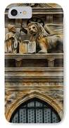 The Lion Of Venice IPhone Case by Lee Dos Santos