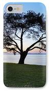 Tree By The Bay IPhone Case by Kelley King
