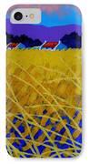 Yellow Meadow IPhone Case by John  Nolan