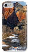 Zion National Park Utah IPhone Case