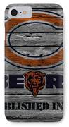 Chicago Bears IPhone Case by Joe Hamilton