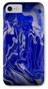 Abstract 87 IPhone Case by J D Owen