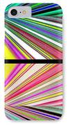 Abstract Fusion 221 IPhone Case by Will Borden