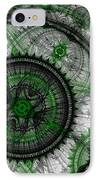 Abstract Mechanical Fractal IPhone Case by Martin Capek