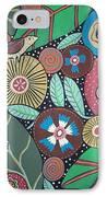3 Bird Botanical IPhone Case