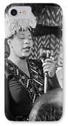 Ella Fitzgerald (1917-1996) IPhone Case by Granger