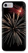 Fire Works IPhone Case by Devinder Sangha