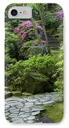 Garden Path IPhone Case by Brian Jannsen