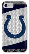 Indianapolis Colts IPhone Case by Joe Hamilton