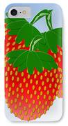 3 Little Berries Are We IPhone Case by Andee Design