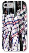 Men's Shirts IPhone Case by Tom Gowanlock
