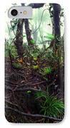 Misty Rainforest El Yunque IPhone Case by Thomas R Fletcher