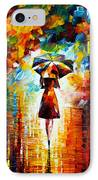 Rain Princess IPhone Case by Leonid Afremov