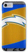 San Diego Chargers IPhone Case by Joe Hamilton