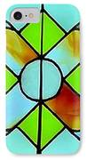 Stained Glass Window IPhone Case by Janette Boyd