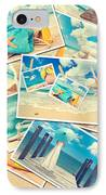 Summer Postcards IPhone Case by Amanda Elwell