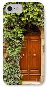 Tuscan Door IPhone Case by Brian Jannsen