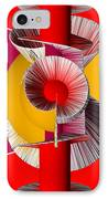 3d Abstract 18 IPhone Case by Angelina Vick
