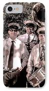3rd Line Brass Band IPhone Case by Renee Barnes