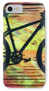 Bike 10 IPhone Case by William Cauthern