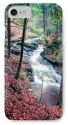 Chesterfield Gorge New Hampshire IPhone Case by Edward Fielding
