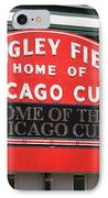 Chicago Cubs - Wrigley Field IPhone Case