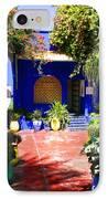 Majorelle Garden Marrakesh Morocco IPhone Case