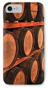 Wine Barrels IPhone Case by Elena Elisseeva