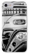1958 Chevrolet Impala Steering Wheel IPhone Case by Jill Reger