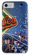 Baltimore Orioles IPhone Case by Joe Hamilton
