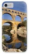 Pont Du Gard IPhone Case by Brian Jannsen