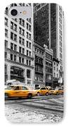 5th Avenue Yellow Cab IPhone Case