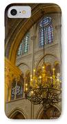 Cathedral Notre Dame IPhone Case by Brian Jannsen