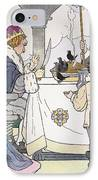 Mother Goose, 1916 IPhone Case