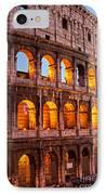 The Majestic Coliseum - Rome IPhone Case