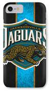 Jacksonville Jaguars IPhone Case by Joe Hamilton