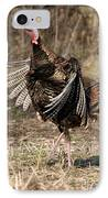 Jake Eastern Wild Turkey IPhone Case by Linda Freshwaters Arndt