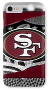 San Francisco 49ers IPhone Case by Joe Hamilton