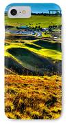 #9 At Chambers Bay Golf Course - Location Of The 2015 U.s. Open Tournament IPhone Case by David Patterson