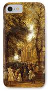 A Country Wedding IPhone Case by Charles Thomas Burt