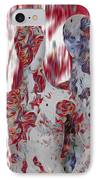 A Couple IPhone Case by Jack Zulli
