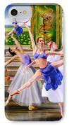 A Dance For All Seasons IPhone Case by Reggie Duffie