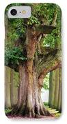 A Day Without You. Park Of The De Haar Castle IPhone Case by Jenny Rainbow
